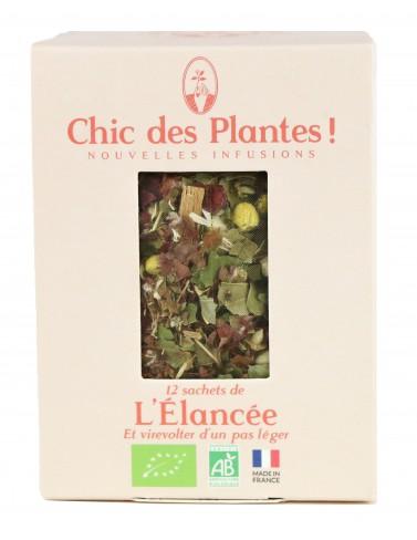 Infusion bio L'Elancée - 12 sachets