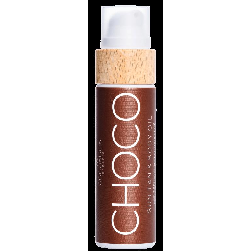 Huile bronzante CHOCO
