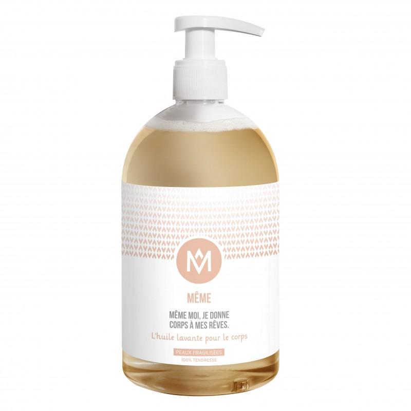 L'huile lavante pour le corps